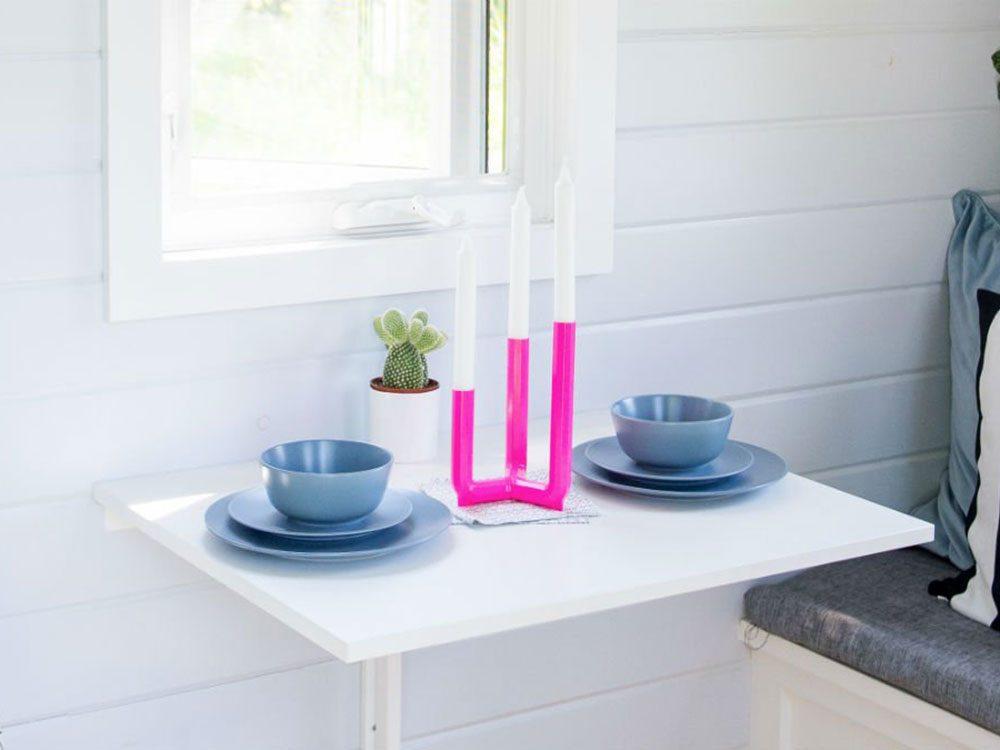 Une mini-maison permet d'avoir des conversations en tête-à-tête, ce qui favorise l'intimité dans le couple.