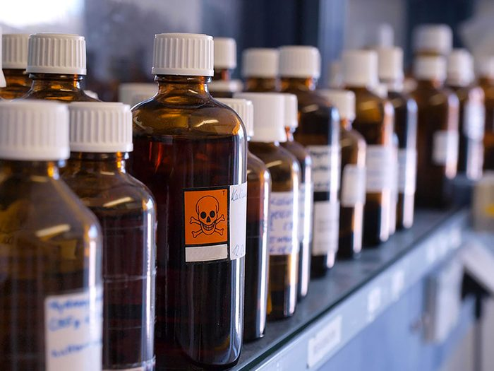 L'exposition à des produits toxiques peut provoquer une perte de l'odorat.