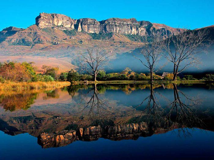 En Afrique du Sud, nous vous encourageons à laisser un pourboire à votre serveur.