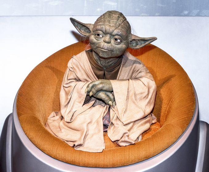 Yoda, au musée Madame Tussauds de Berlin, en Allemagne.
