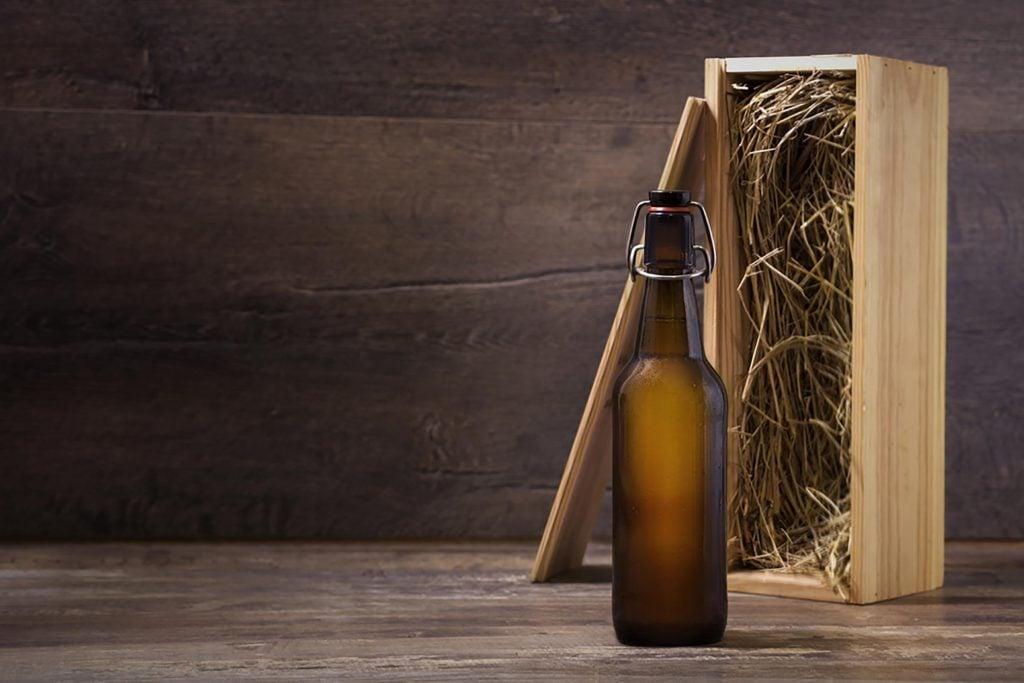 La malédiction sur une bière d'époque