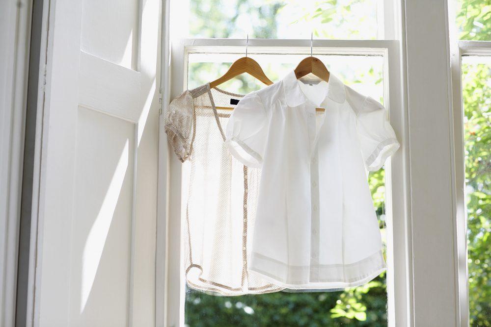 Blanchissez vos vêtements sans javellisant