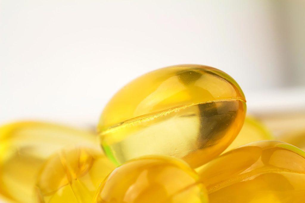 La vitamine E aide à cicatriser.
