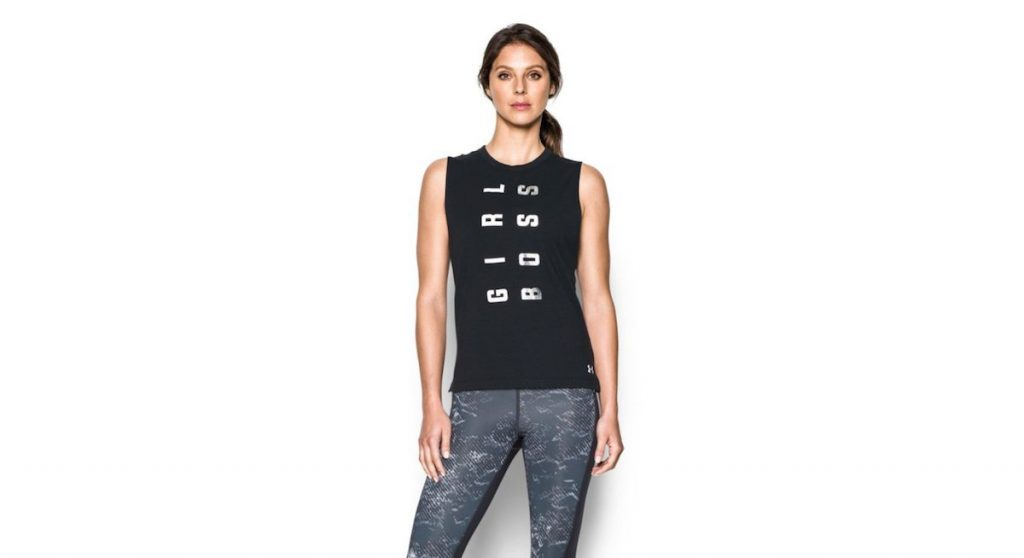 Débardeur Heatgear Girl Boss Muscle Tee d'Under Armour, 34,99 $