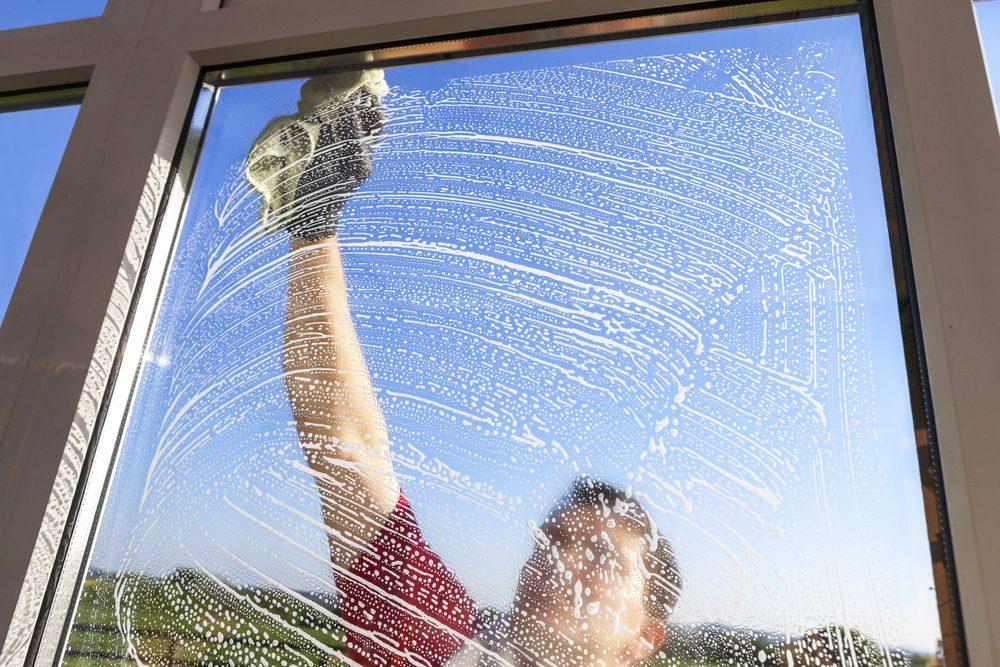 Laver les vitres