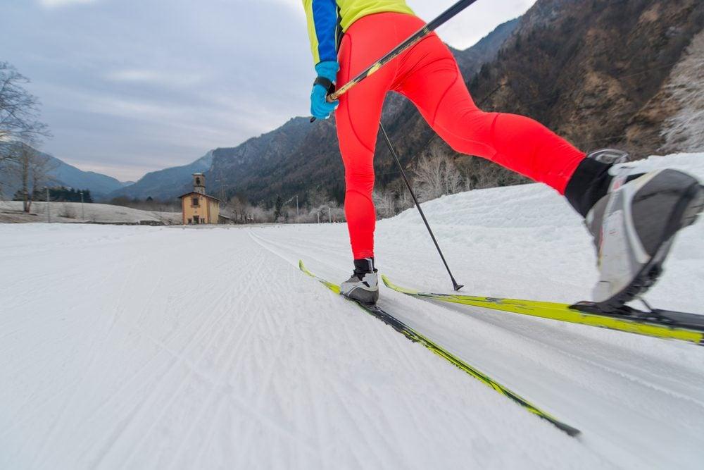 Le ski est bon pour le cœur et le tonus musculaire