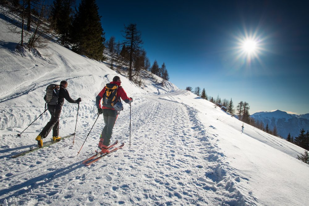 Le ski vous aide à brûler des calories