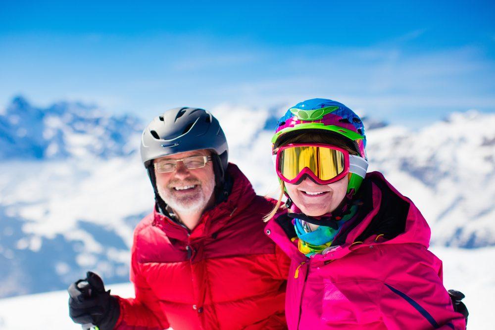 Ski peut combattre la déprime hivernale