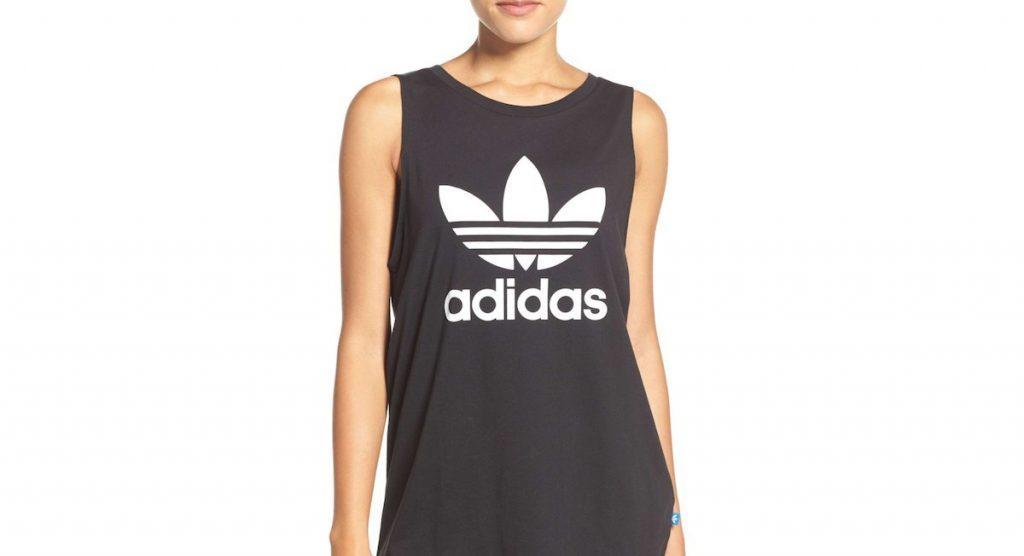 Débardeur Originals Trefoil Logo Relaxed Fit Tank d'Adidas, prix régulier 40,26 $