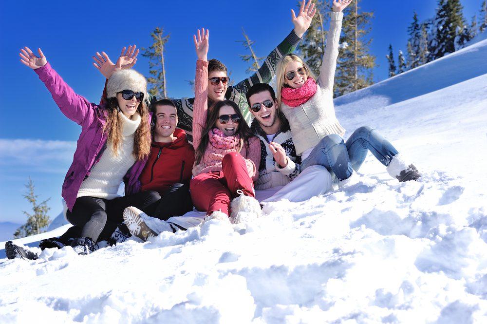 Le ski est une activité sociale