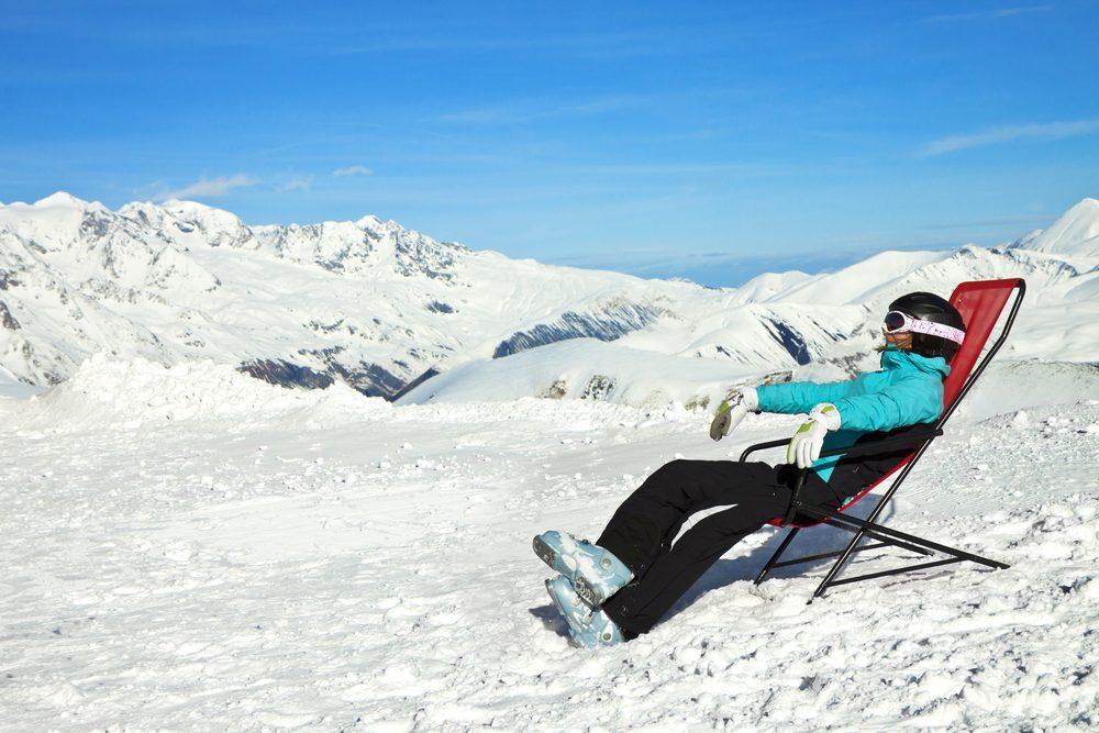 Le ski vous aide à vous détendre