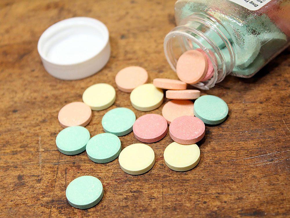 Utilisez des antiacides contre vos aphtes.