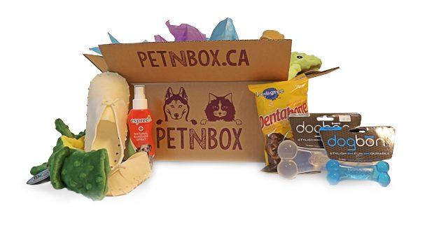 PetnBox offre une boîte à surprises pour chats et chiens.