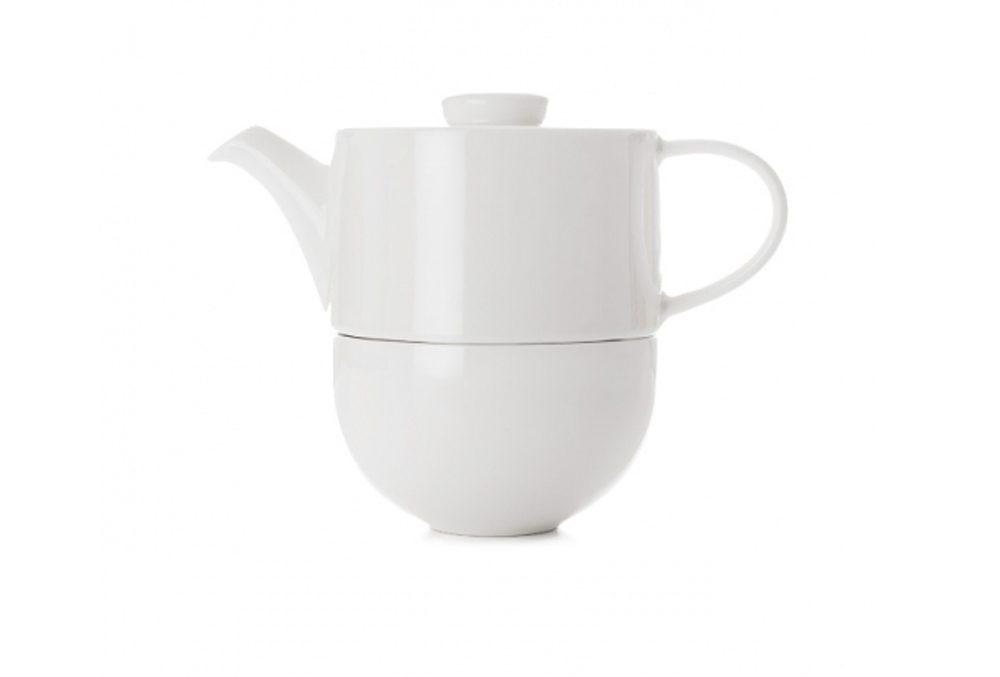 Cadeau de Noël pour un doux matin : un ensemble de thé