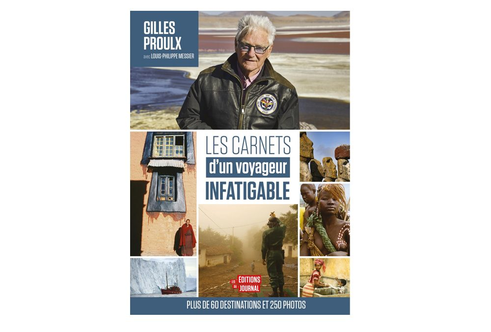 le livre Les carnets d'un voyageur infatigable est parfait pour les amoureux du voyage.