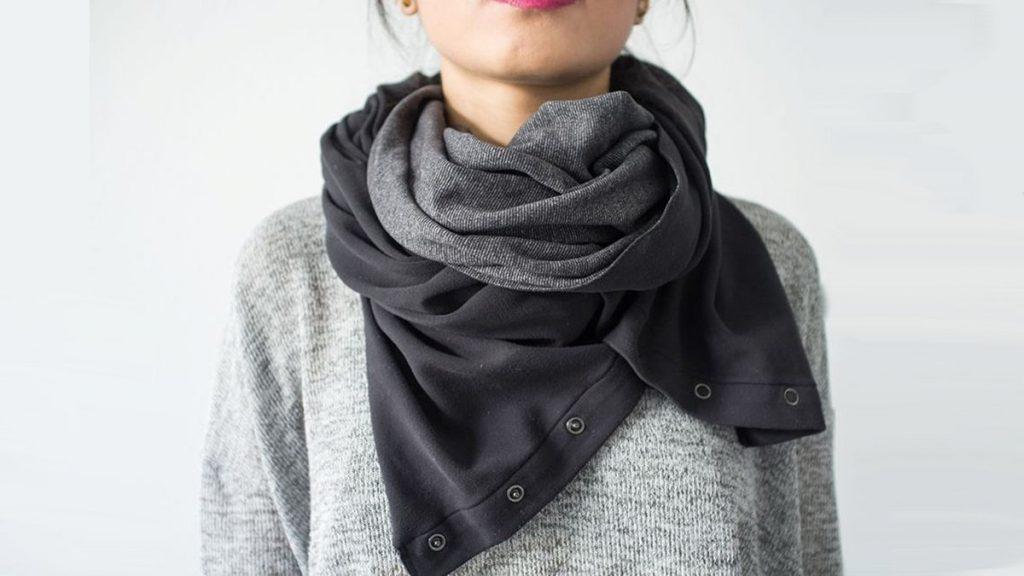 Cadeau de voyage pour globe-trotter : un foulard polyvalent