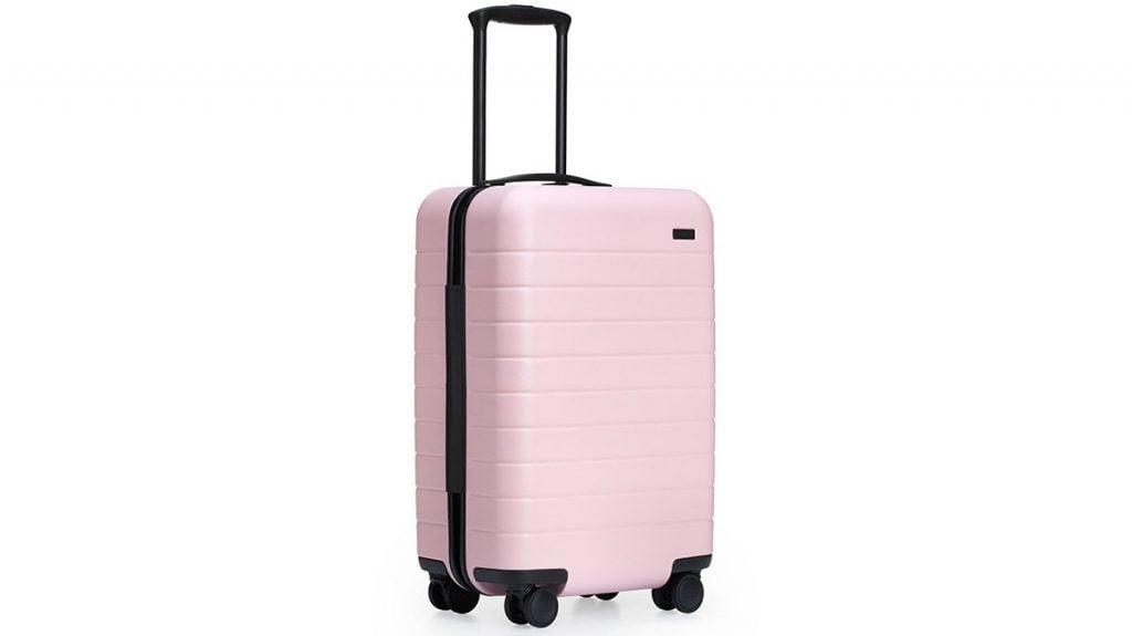 Cadeau de voyage pour globe-trotter : une jolie valise rose