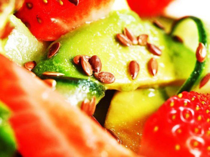 Collations santé: tacos aux fruits.
