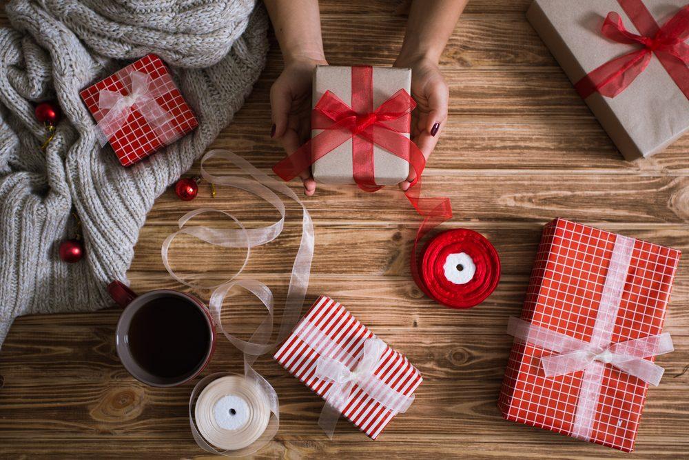 Emballez vos cadeaux de Noël en avance