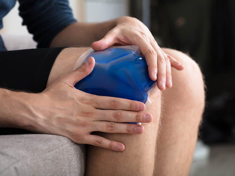 Genou : les ménisques font partie des tissus le plus souvent traumatisés.