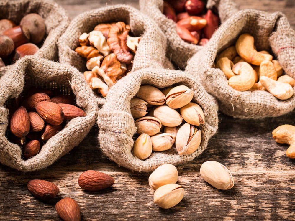 Intégrer les noix à son alimentation