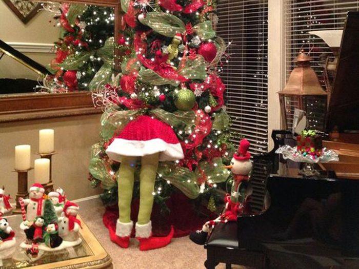 Créez un sapin de Noël habité!