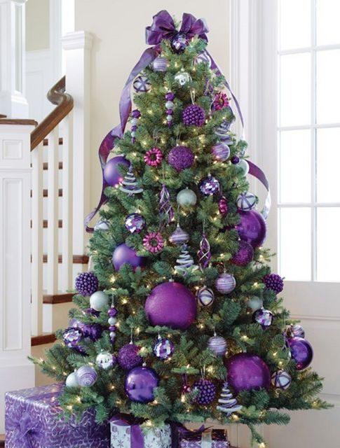 Choisissez un couleur originale pour votre sapin de Noël