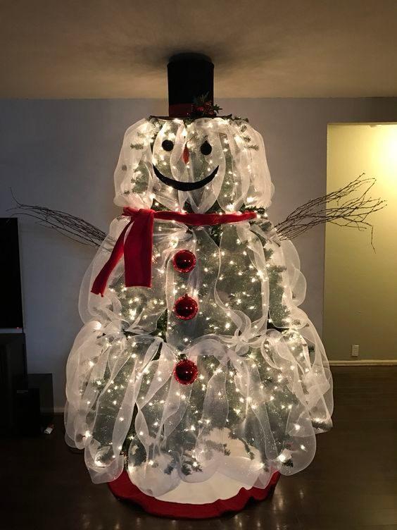 Transformez votre sapin de Noël en personnage géant