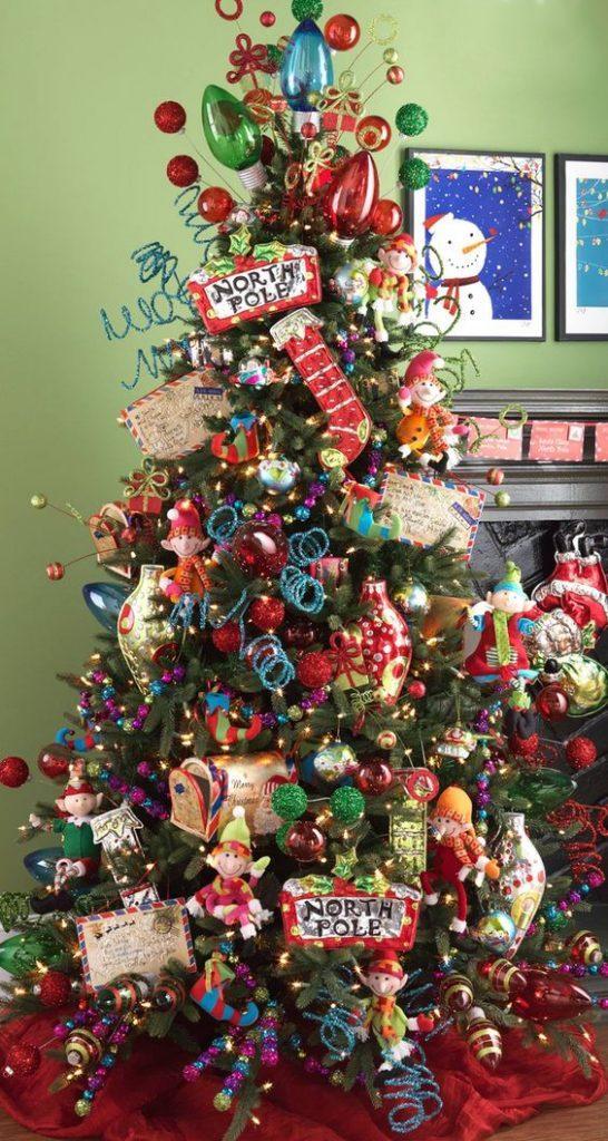Trouvez un thème pour votre sapin de Noël