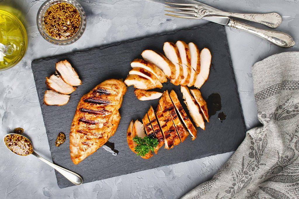 Zinc pour combattre le rhume : la viande brune de poulet