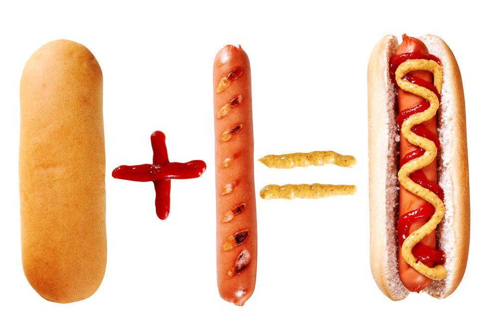 Saucisse hot dog