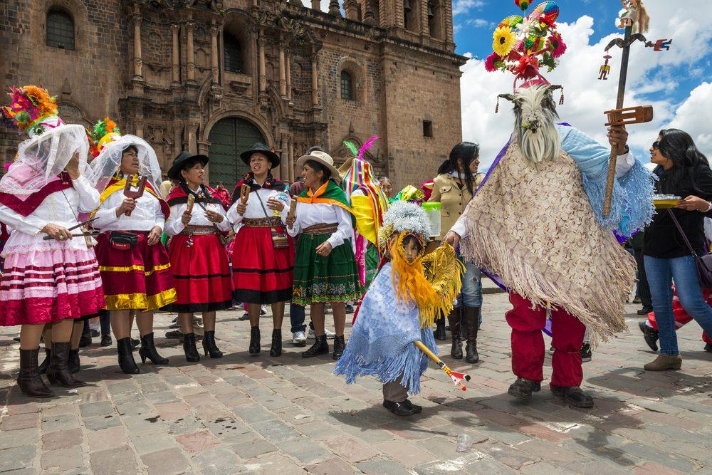 Noël au Pérou : revoyez la première règle de Fight Club