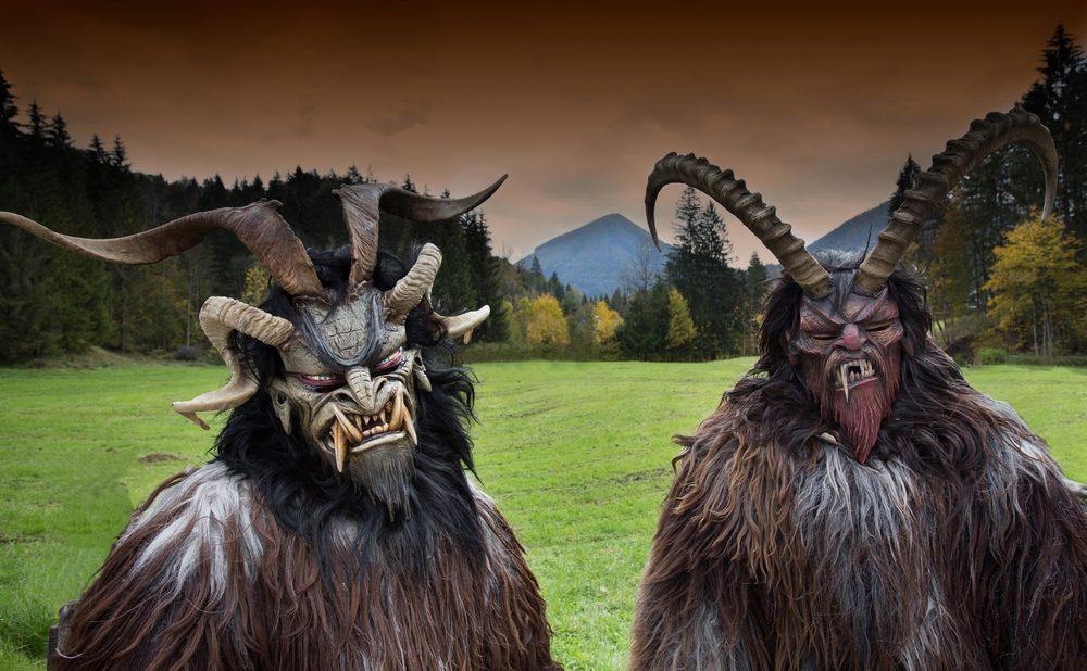 Krampus est à l'origine du « méchant père Noël »