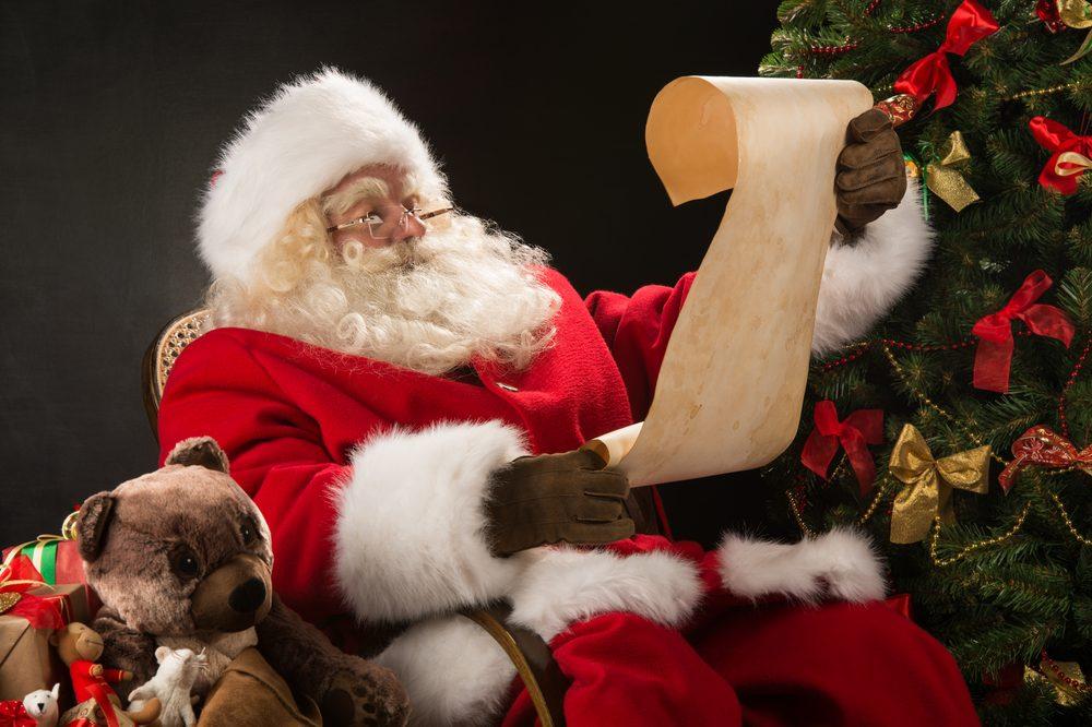 Le père Noël a changé d'allure