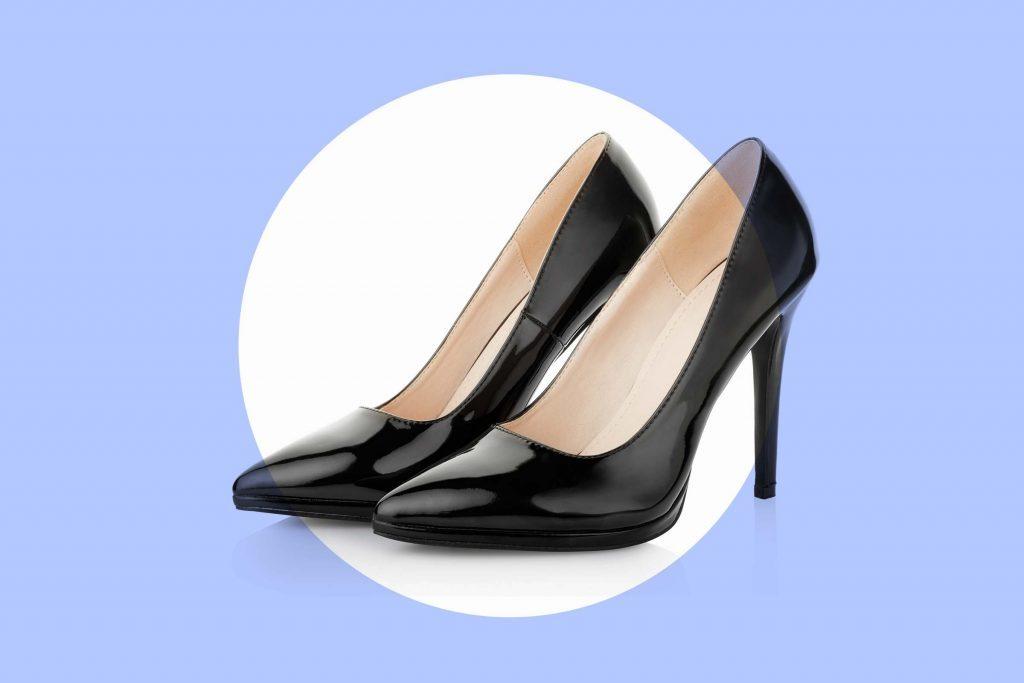 Chaussures en cuir verni