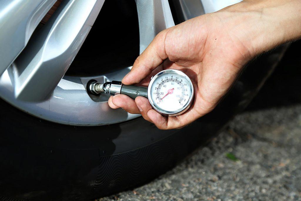 La température peut modifier la pression de vos pneus