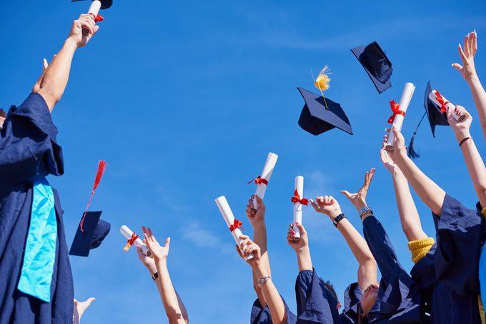 Plus de diplômés au Canada