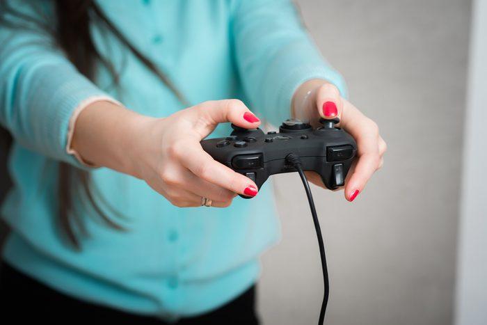 Prenez une pause console de jeux