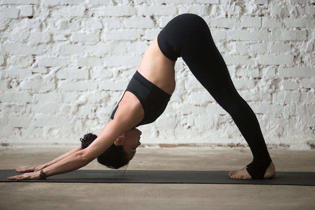 Yoga: le chien tête en bas