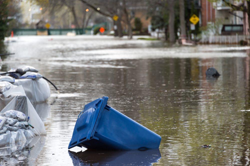 Inondations printanières au Québec et en Ontario