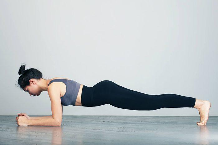 Yoga: la planche