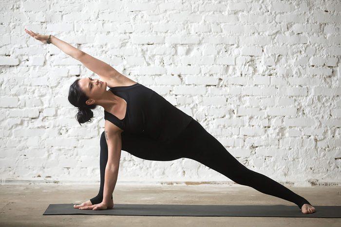 Yoga: le triangle