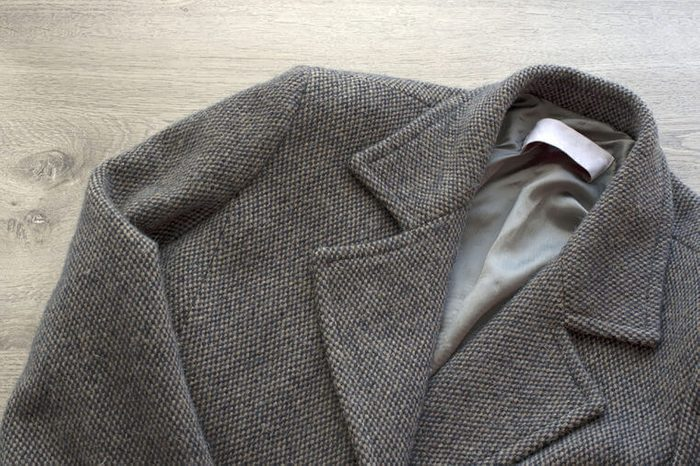Les vêtements contenant des fibres de laine ne devraient pas être mis à la sécheuse.