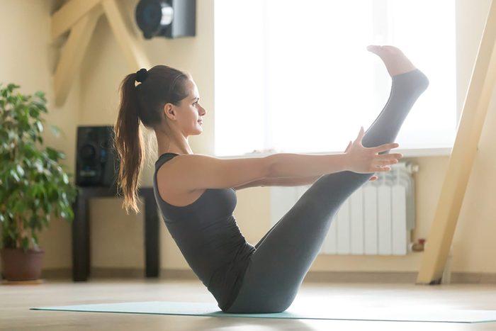 Yoga: le bateau