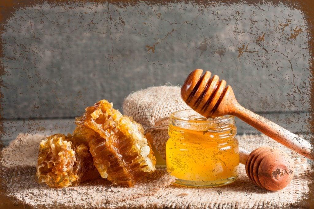 Miel contre toux