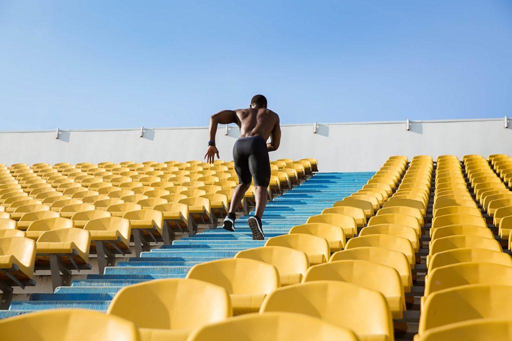 Vous récompensez l'exercice en mangeant