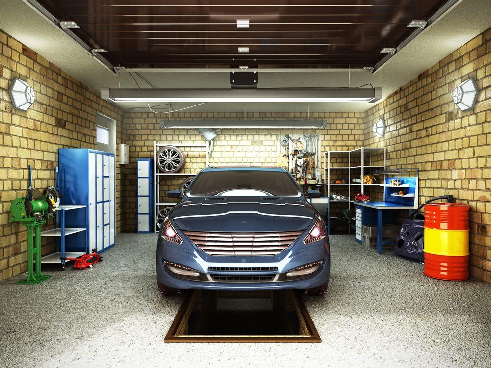 Faites attention au garage