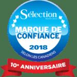 Liste des gagnants du sondage Marque de confiance<sup>MD</sup> Sélection de Reader's Digest