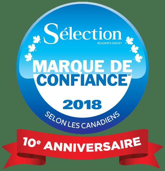 Les 30 gagnants 2018 du sondage Marque de confiance<sup>MD</sup> Sélection de Reader&#8217;s Digest