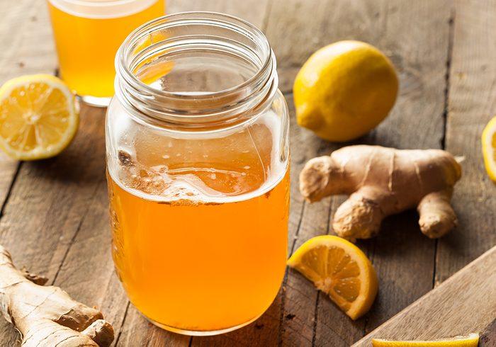 Le kimbucha est excellent contre la grippe et le rhume.